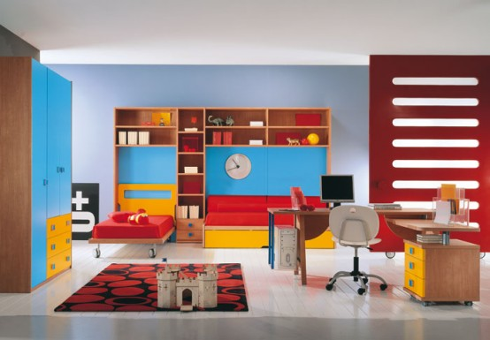 Western Home Decorating Modern Kids Room Decor Ideas 2012