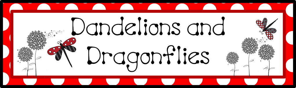 dandelions and dragonflies
