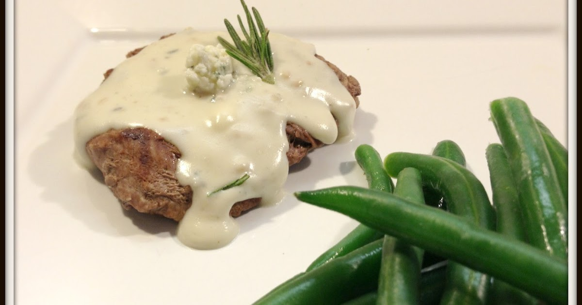Cookaholic Wife: Filet Mignon with Gorgonzola Sauce