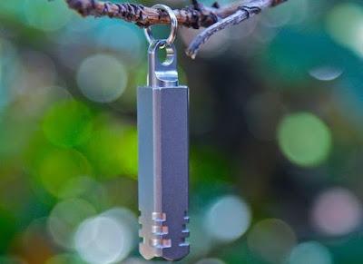Pixel Keychain Flashlight