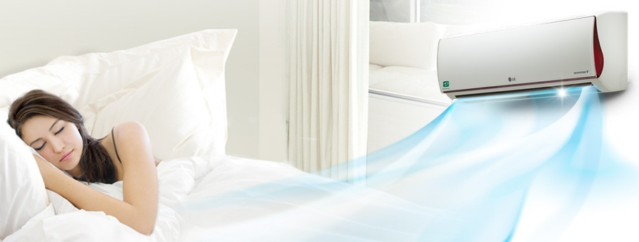 AC Kesehatan LG AC Skin Care Deluxe Inverter V