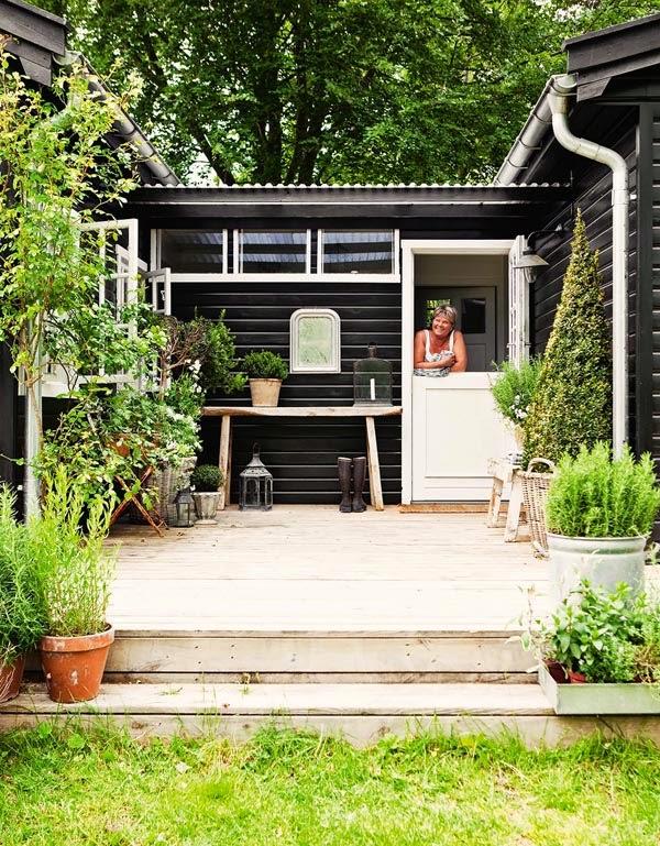 Estilo rustico casa rustica escandinava scandinavian for Casa escandinava