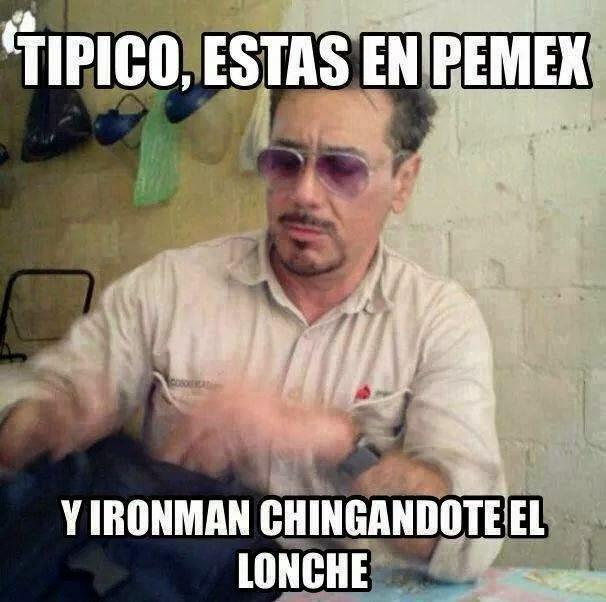Típico, que te encuentras a Ironman