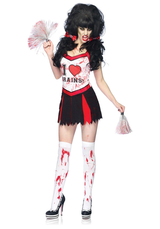 The spooky vegan halloween costume ideas zombies zombie cheerleader solutioingenieria Gallery