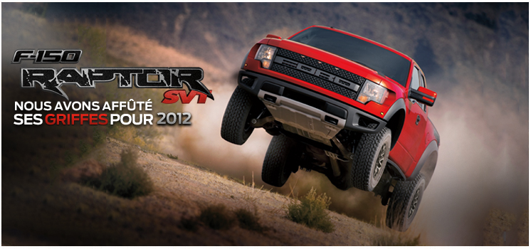 ford svt raptor f-150 2012