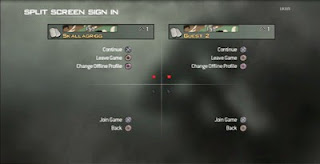 Split Screen Sign in on Call of Duty 3: Call of Duty MW3 made one switch accessible for disabled gamers.