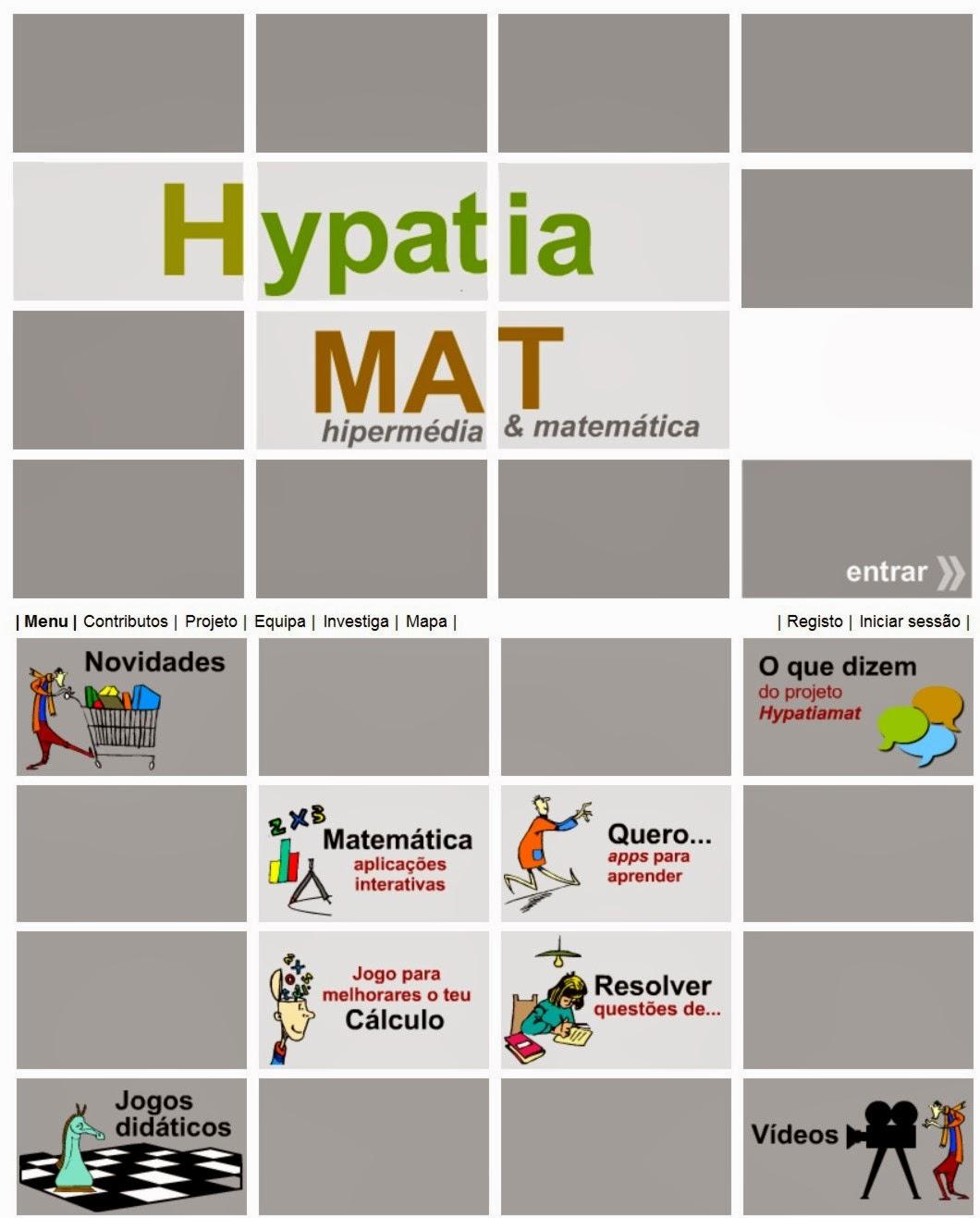 HypatiaMAT - Atividades e jogos