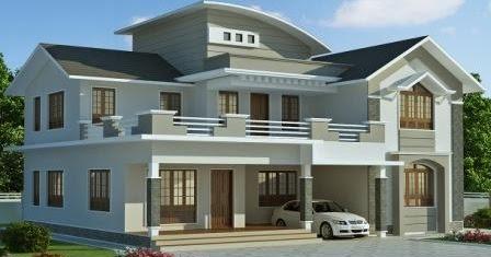 gambar rumah modern minimalis | model rumah modern
