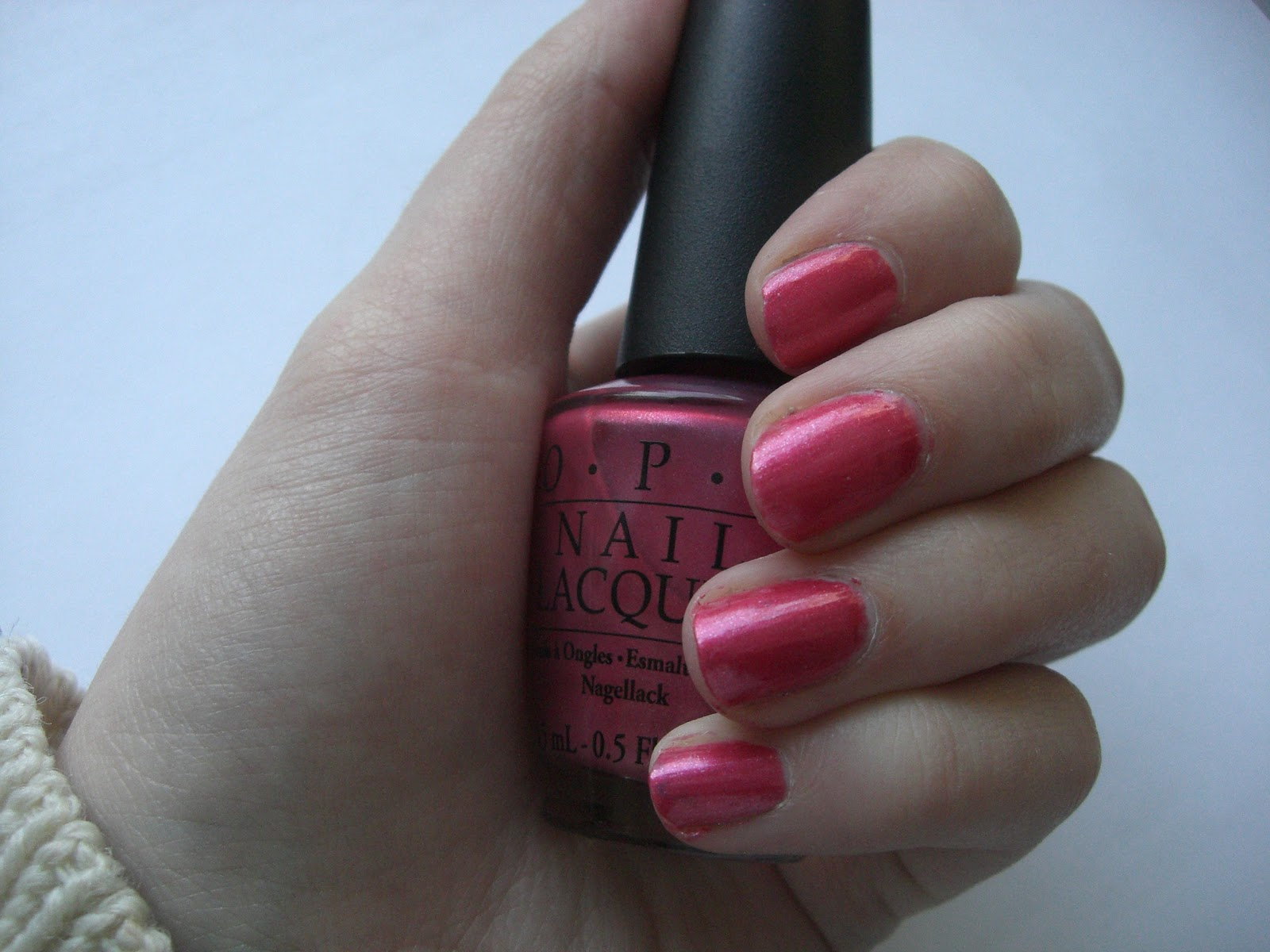 Opi Holy Pink Pagoda is a