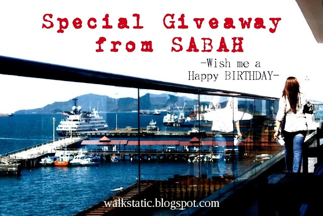 SPECIAL GIVEAWAY FROM SABAH