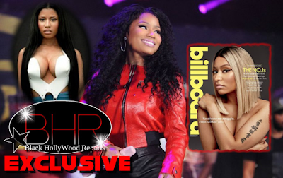 Rapper Nicki Minaj Reaches Billboard #1 Issue, And Talks About Her Upcoming Projects
