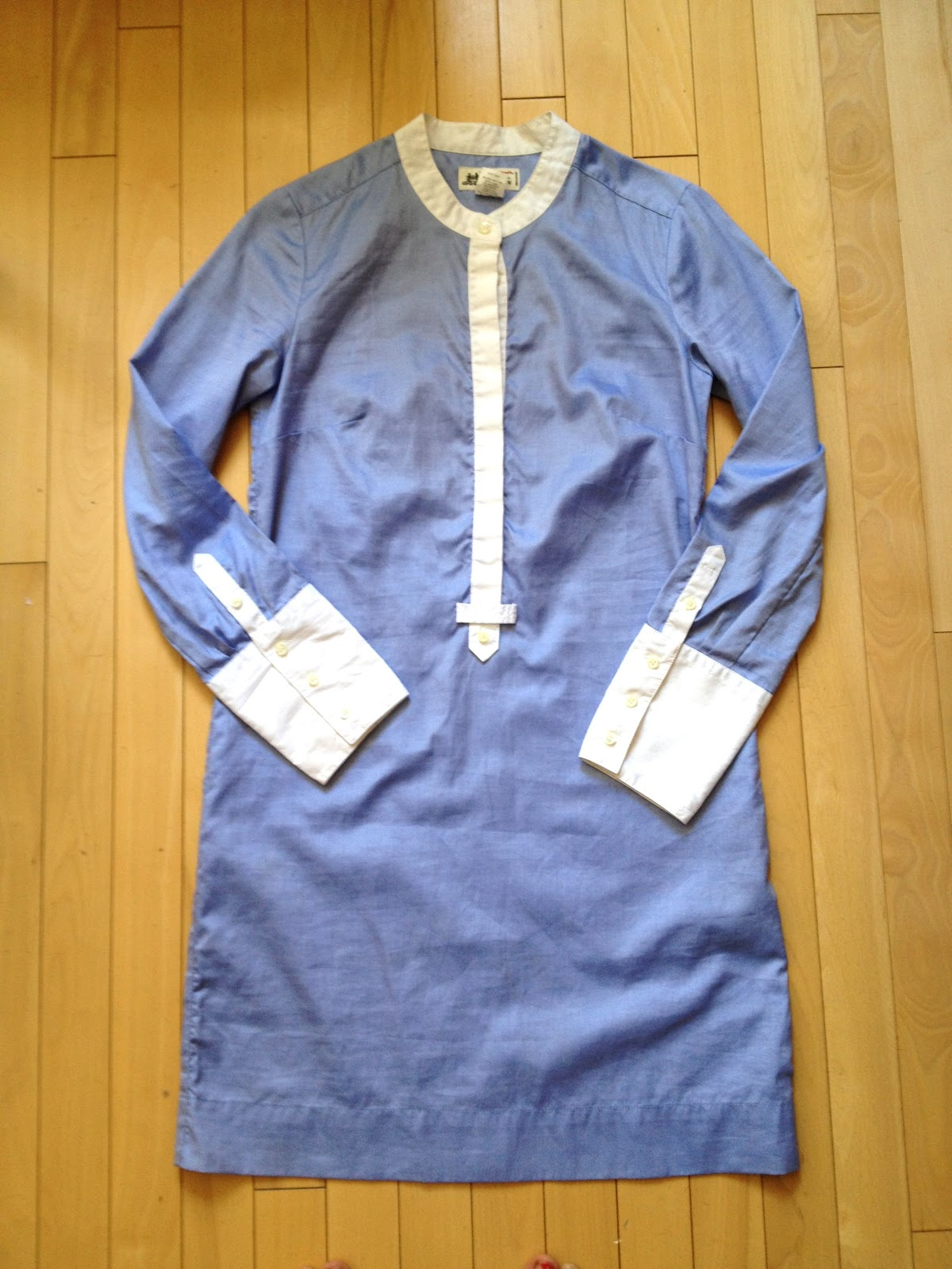 Laws Of General Economy J Crew Shirtdress In Thomas Mason