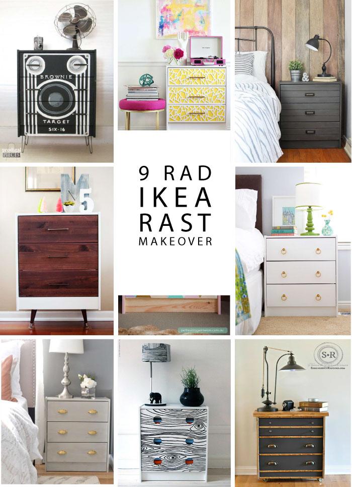 9 Rad IKEA RAST Hacks