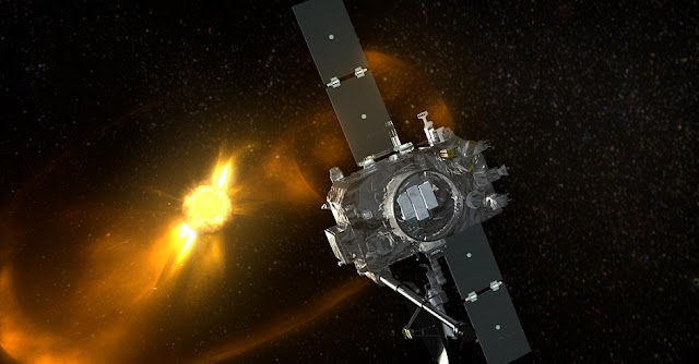 NASA's STEREO-B spacecraft. Credit: NASA