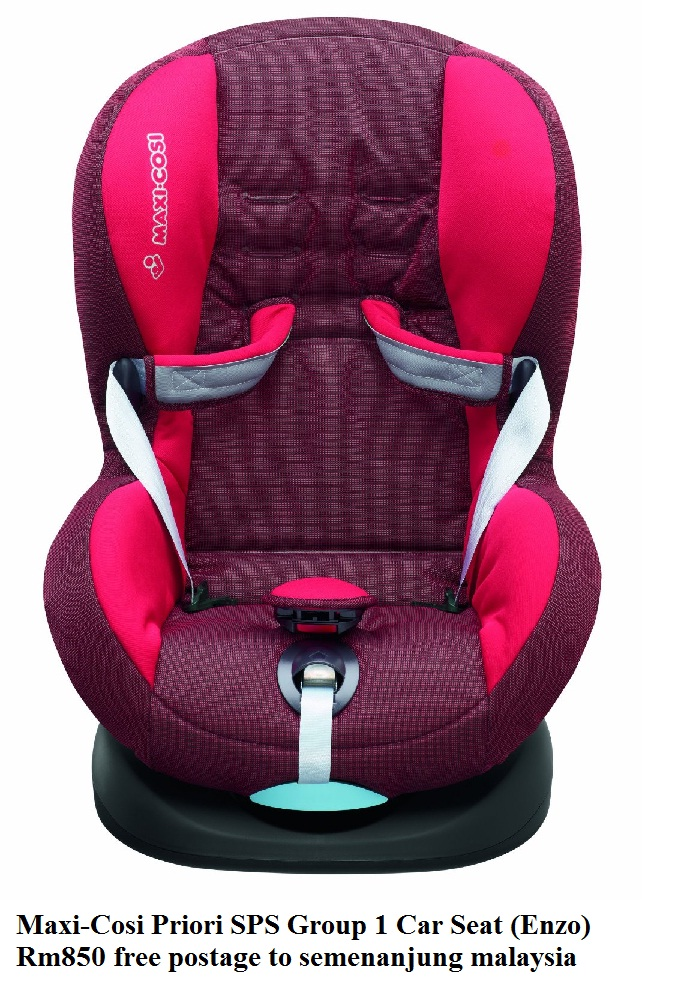 safiya 39 s outlet shop maxi cosi priori sps group 1 car. Black Bedroom Furniture Sets. Home Design Ideas