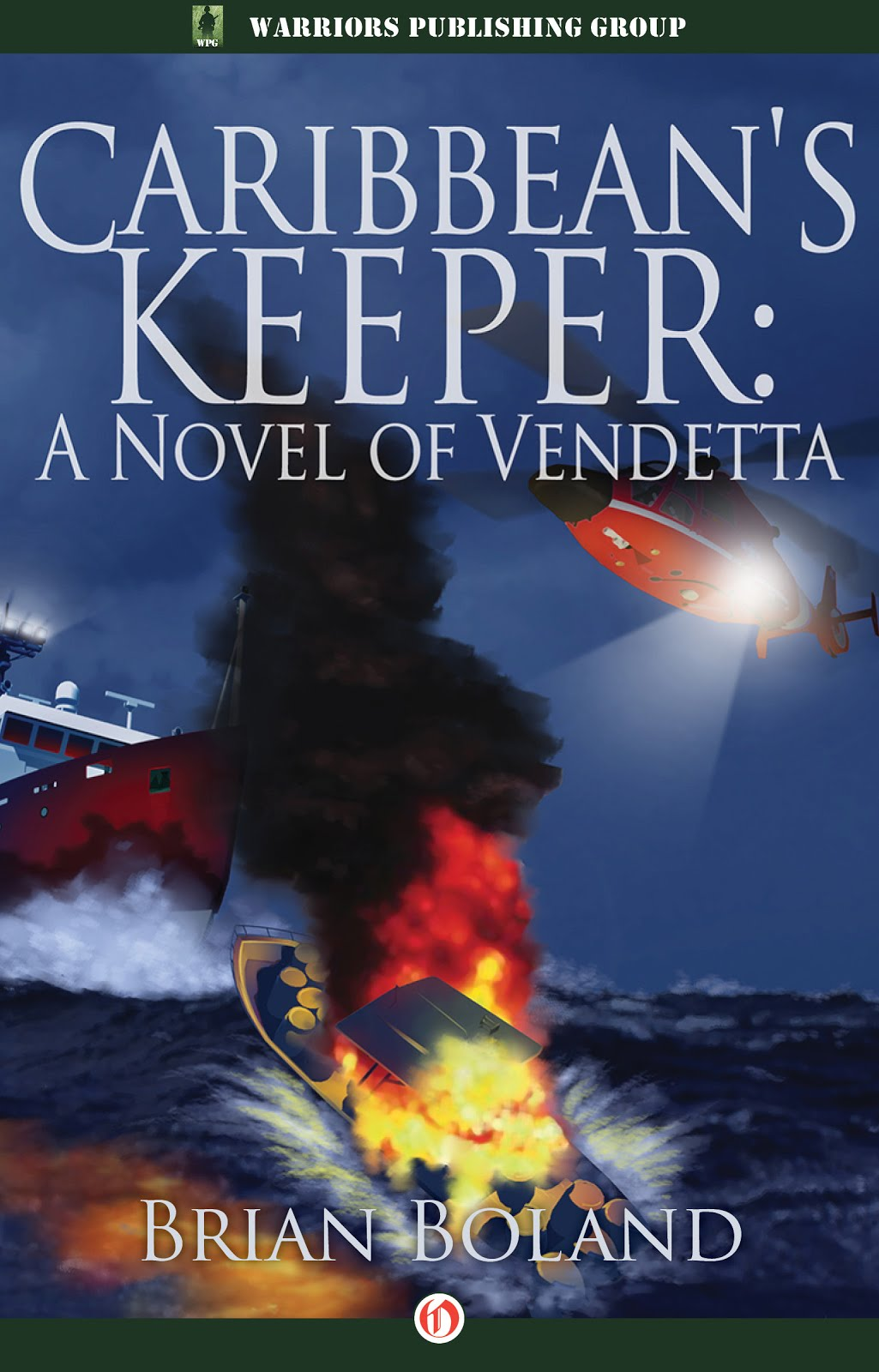 Debut thriller by a US Coast Guard aviator