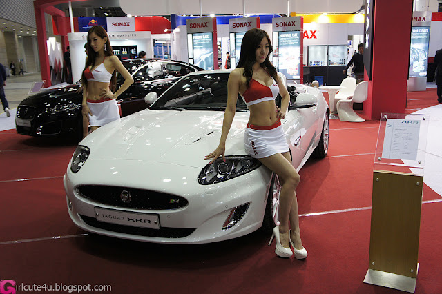 2 Han Ji Eun - Automotive Week 2012-very cute asian girl-girlcute4u.blogspot.com