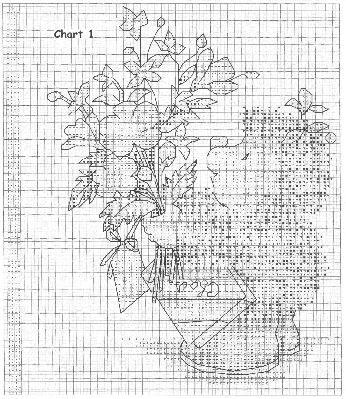 Free Cross Stitch Growth Chart