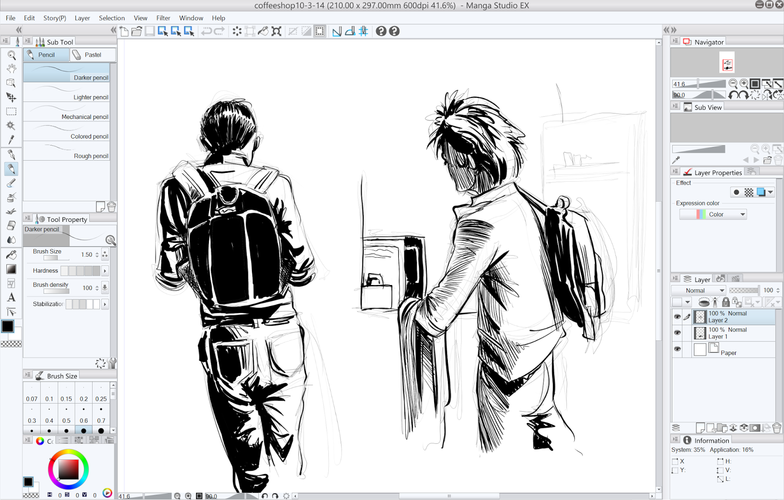 how to get the animate option in manga studio 5ex
