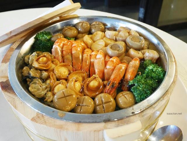 Premiere Prosperous Abalone Treasure Pot