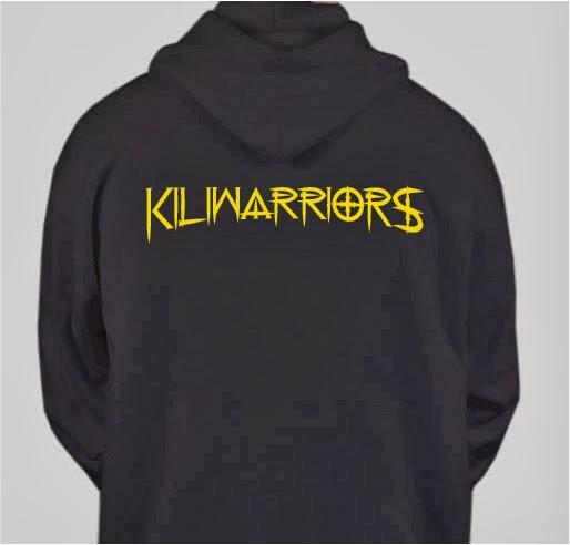 Kiliwarrior Shirt - copyright Eben Schoeman