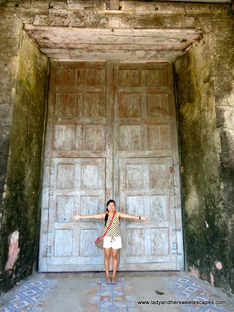 door of the Baclayon Church Bohol