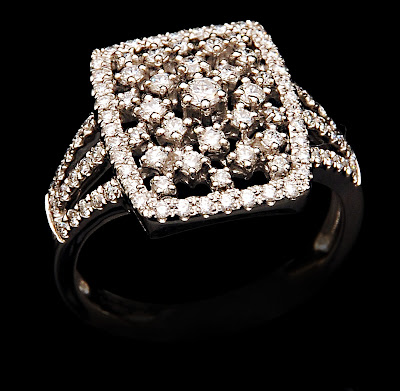 VBJ Diamond Platinum Ring Designs
