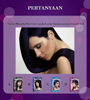 Info Kuis - Kuis Miranda Hair Care Berhadiah Merchandise Cantik