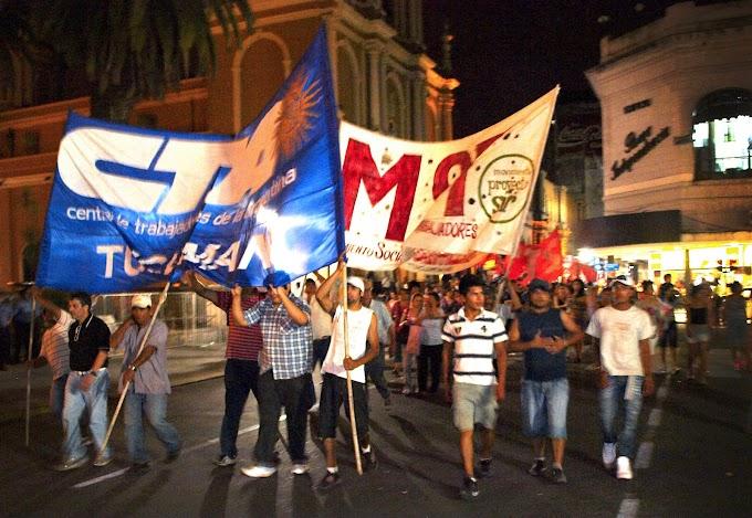 Importante movilización por Mariano Ferreyra