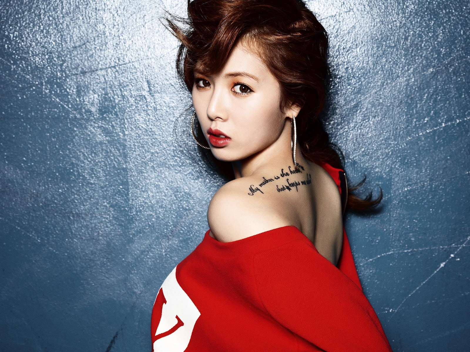 K-POP: Hyuna - Bubble Pop (Photoshoot)