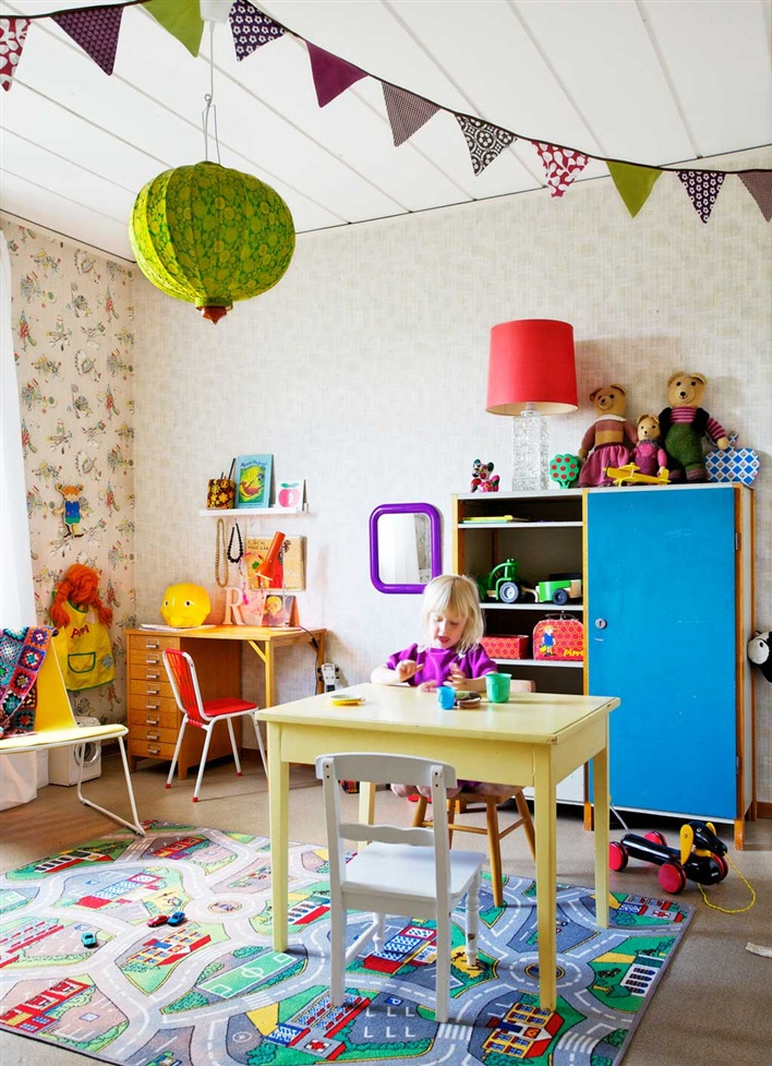 The boo and the boy eclectic kids 39 rooms - Dormitorios infantiles nordicos ...
