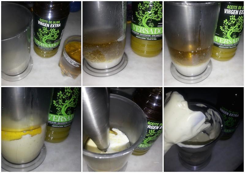 Lactonesa con aceite vesado