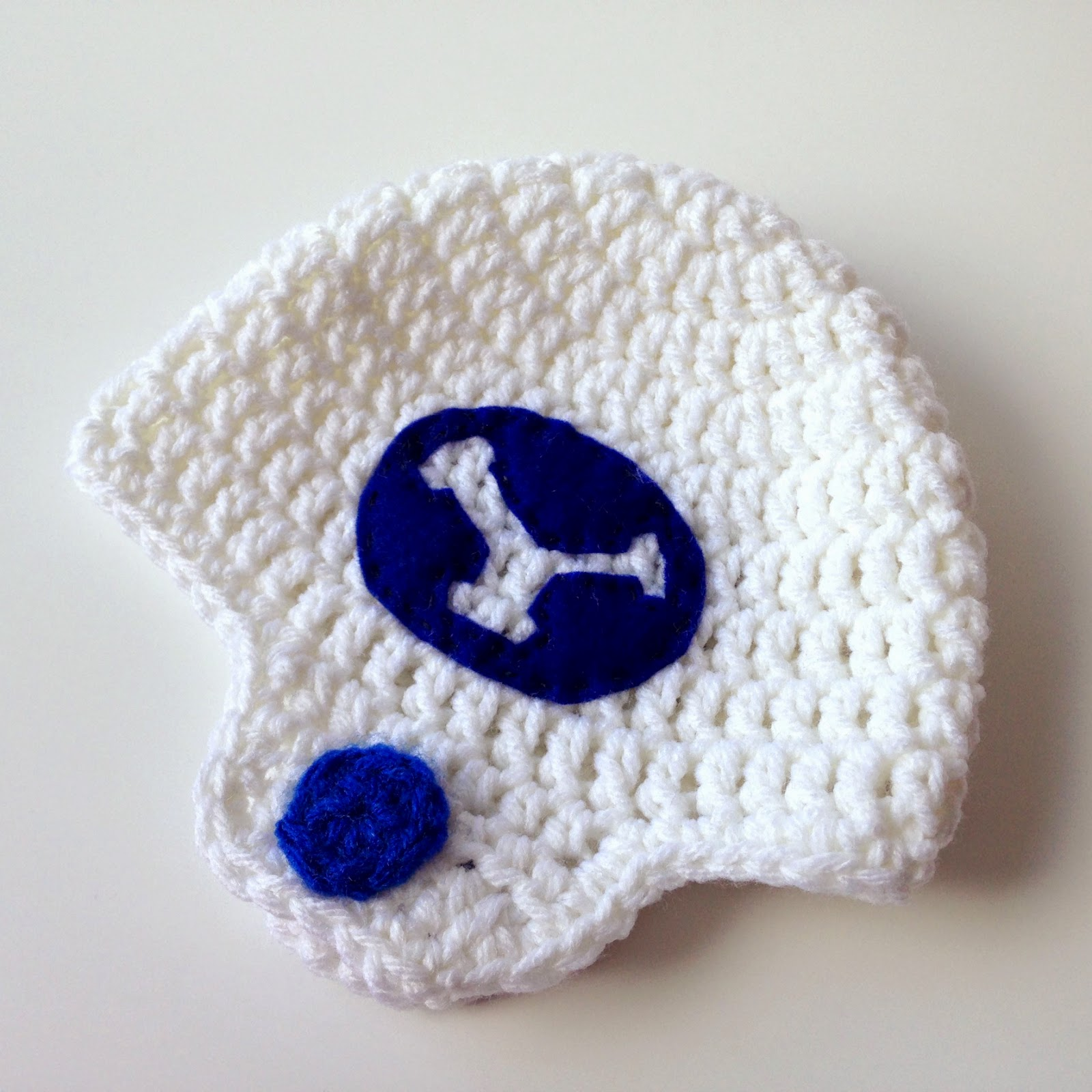 5 little monsters crocheted football helmet hats free pattern bankloansurffo Choice Image