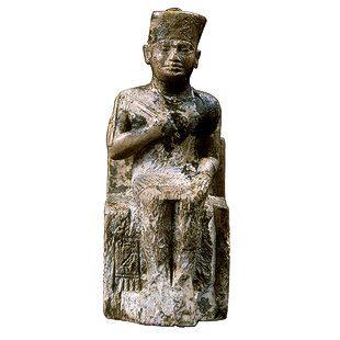 تمثال صغير للملك خوفو