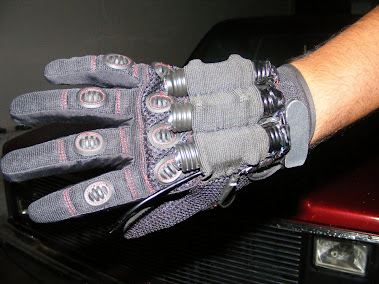 GUANTES CON LACER