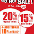 27 Feb - 5 March 2015 BHG Red Hot Sale