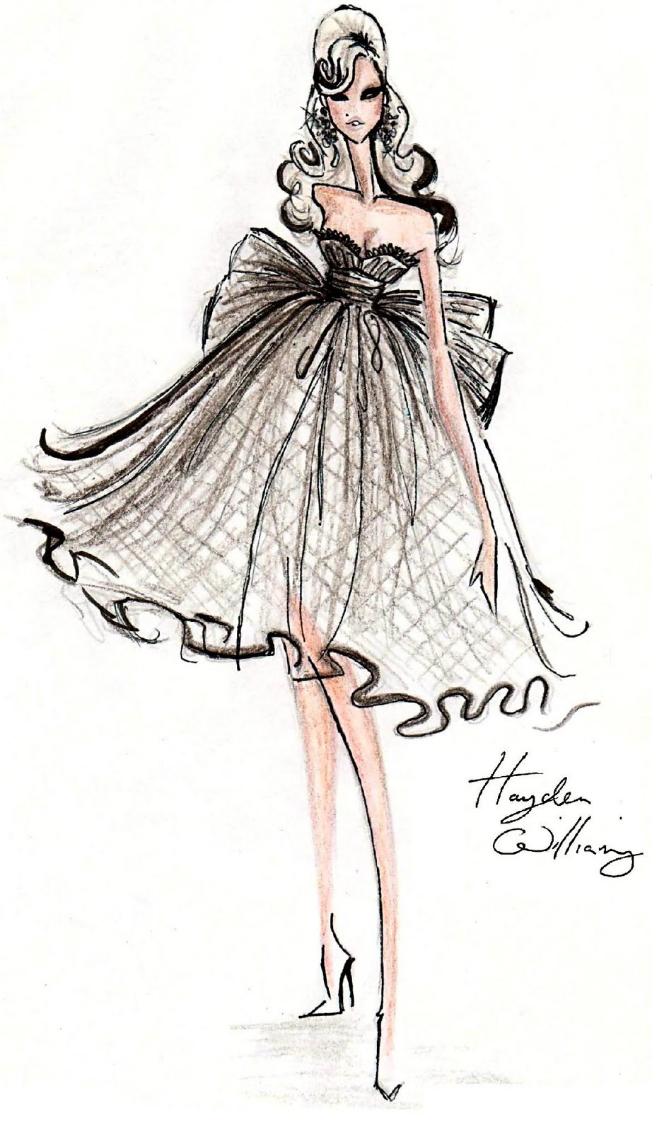 Hayden Williams Fashion Illustrations May 2011
