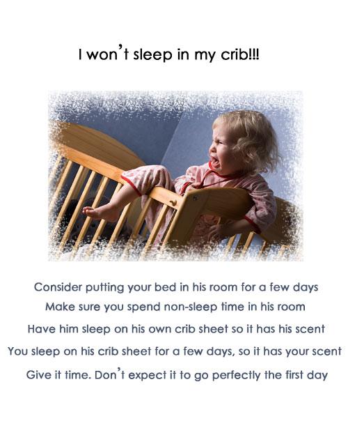 baby wont sleep in crib how to help a baby sleep