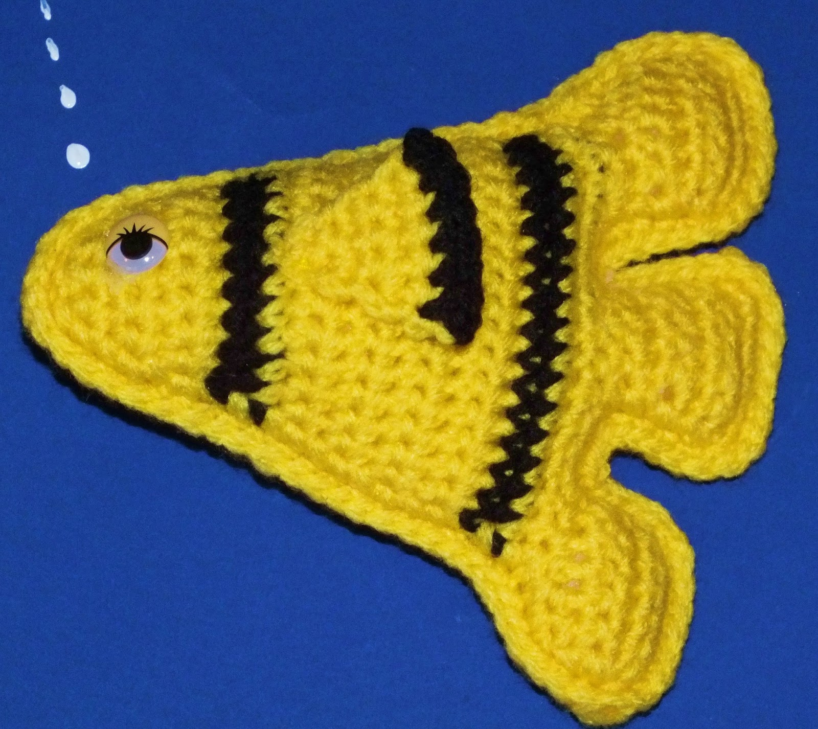 Free Crochet Patterns Of Fish : Connies Spot? Crocheting, Crafting, Creating!: Free ...