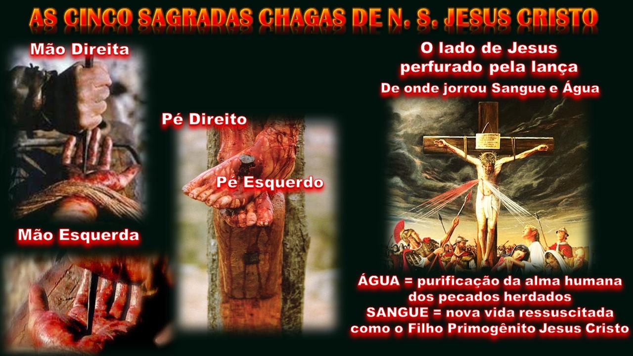 Resultado de imagem para as cinco chagas do Senhor
