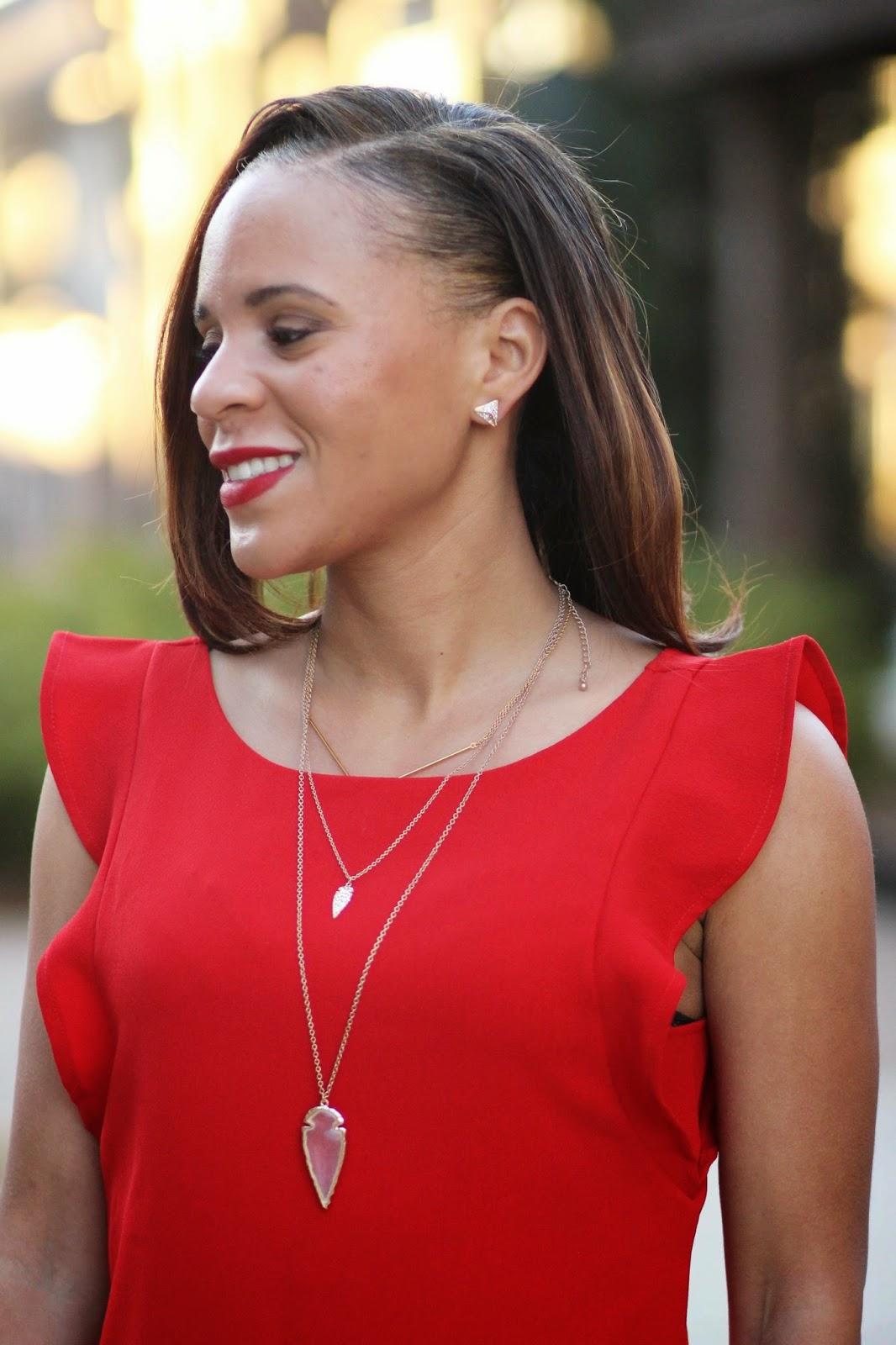 Red-flirty-dress