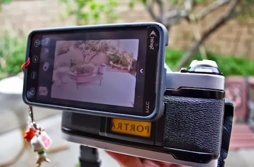 Tire fotos digitais com sua antiga câmera de filme