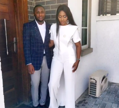 Lilian Esoro and Husband Ubi Franklin wed at Ikoyi Registry4