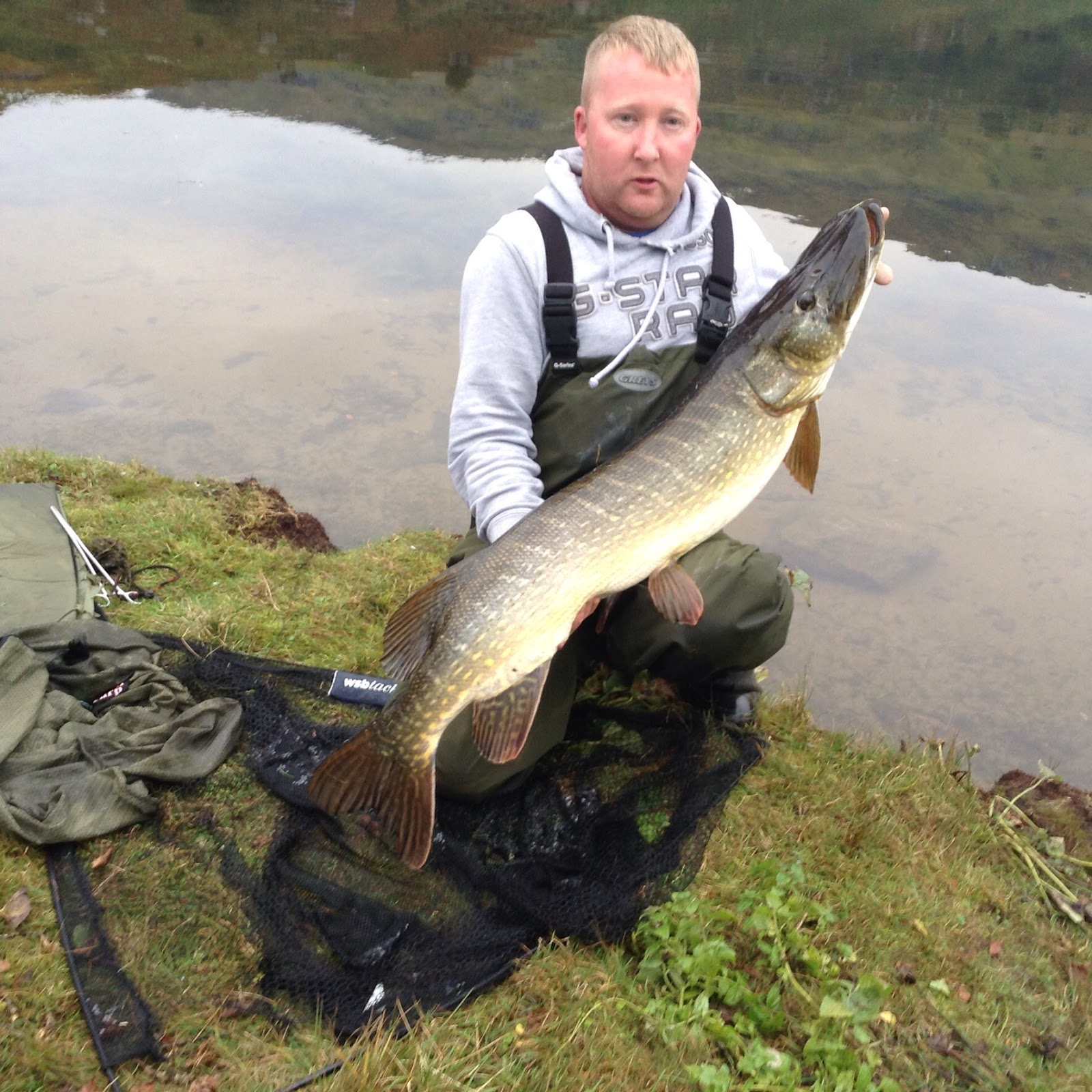 October 2015 fish of the month entry lomond pike for Loch lomond fishing