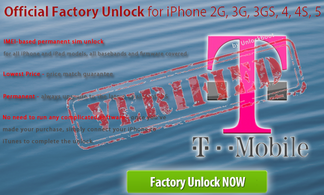 T-mobile Germany iPhone 4 Unlock