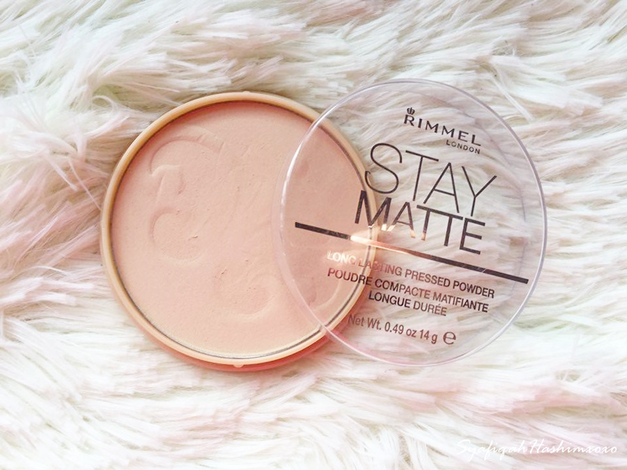 「 Rimmel Stay Matte Pressed Powder - Transparent」的圖片搜尋結果