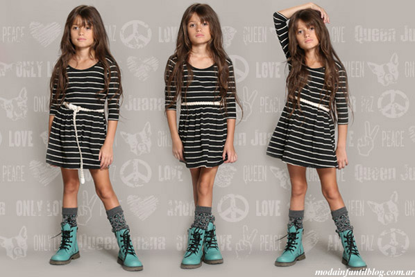 ropa para niñas invierno 2013 queen juana