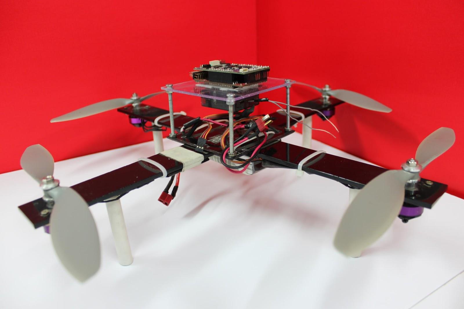 how to build a autonomous quadcopter