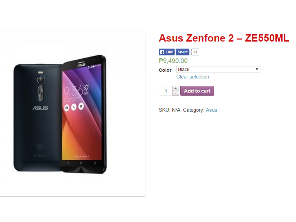 Asus Zenfone 2 Now Available For Pre-order At Widget City, Priced At Php 9,490
