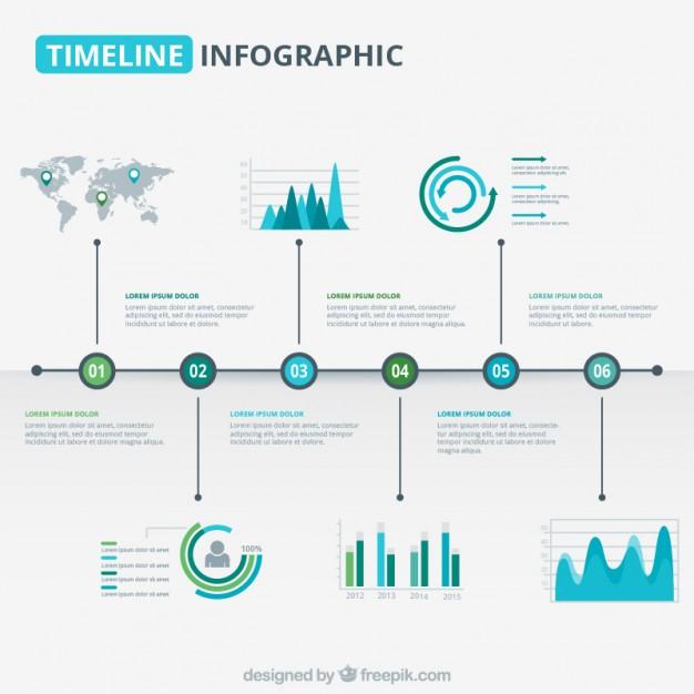 Infographic design inspiration 2018